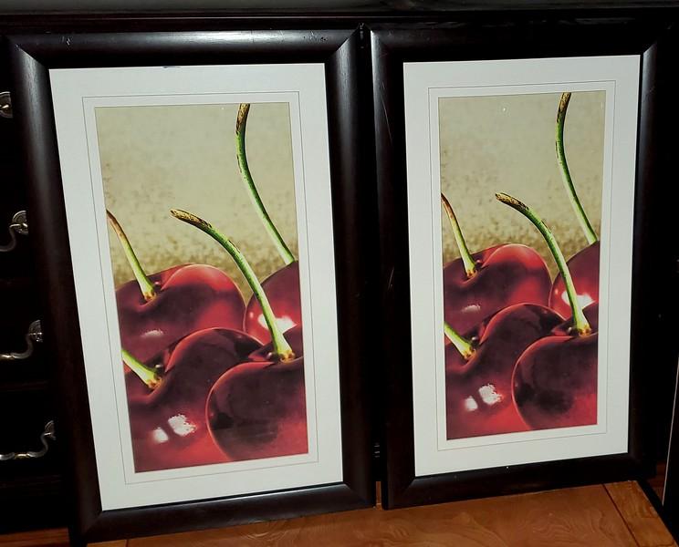 Wild Cherry Framed Art