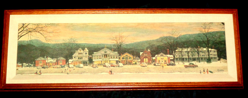 Norman Rockwell Framed Canvas