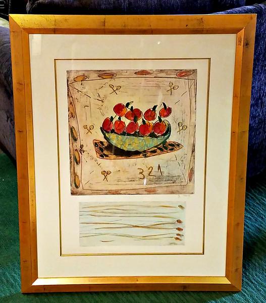 Original Bracha Guy Framed Art