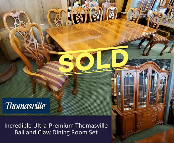 Thomasville Ball and Claw Dining Room