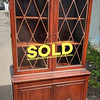 1930's Mahogany China Cabinet