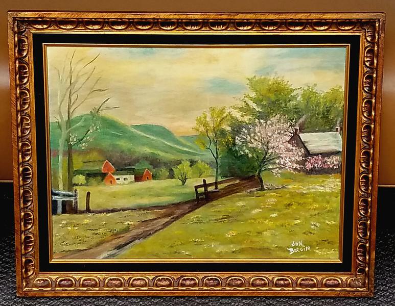Jon Bergin Original Oil