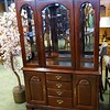Mahogany Formal China Cabinet