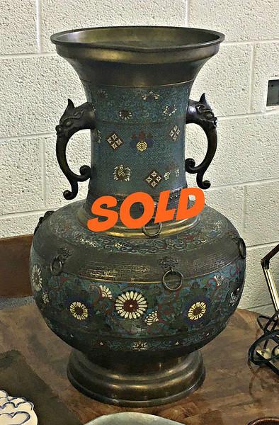 Antique Japanese Urn