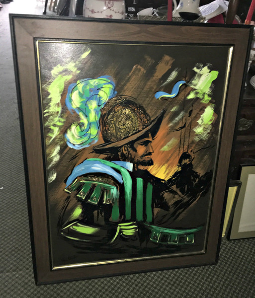 Spanish Conquistador Framed Art