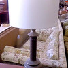 <b>Available at our Livernois Store Location - (313) 345-0884.</b>    Table Lamp with Shade.  <b>$25</b>
