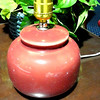 "Little Red Lamp. 9"" <b> $9</b>"