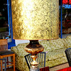 Retro Ornate Table Lamp in Excellent Condition.  18 x 41.  <b>$50</b>