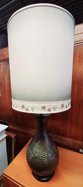 Aluminum Cast Table Lamp