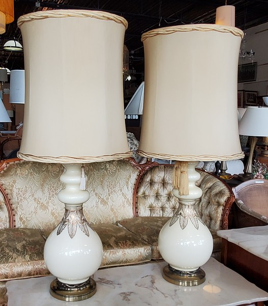 French Provincial Table Lamps