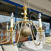 Giant Brass Chandelier