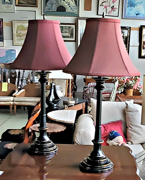 Stiffel Candlestick Table Lamps