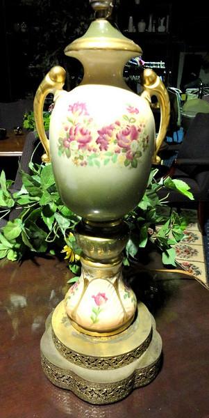 Diane's Ornate Lamp. <b>$75</b>