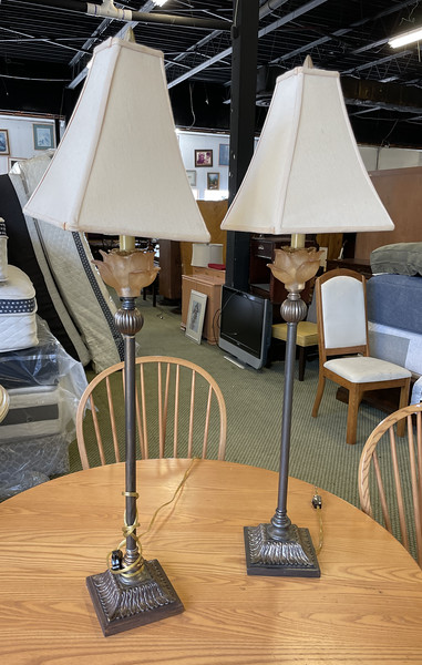 Tall Brass Table Lamps