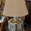 Mid Century Chrome Table Lamp