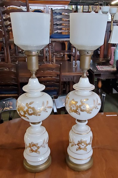 Provincial Torch Light Table Lamps