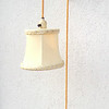 Rare 1920's Adjustable Pulley Wall Sconce Hanging Lamp.  <b></b>
