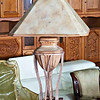 Cast Metal Table Lamp