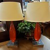 Strawberry Cherry Glass Table Lamps