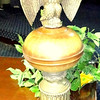Eagle Accented Table Lamp.  34-Inches.  <b>$65</b>
