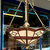 Stained Glass Hanging Lamp.  <b>$85</b>