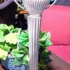 "Silver Cup Trophy-Styled Handle Lamp. 24"" <b>$45</b>"