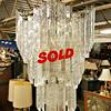 Murano Art Glass Chandelier