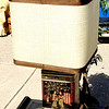 Remarkable Asian-Theme Table Lamp in Excellent Condition.  15 x 15 x 28.  <b>$95</b>