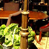 "Tall Brass Lamp. 33"" <b>$35 </b>"