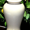"Light Beige Lamp. 17"" <b>$15</b>"