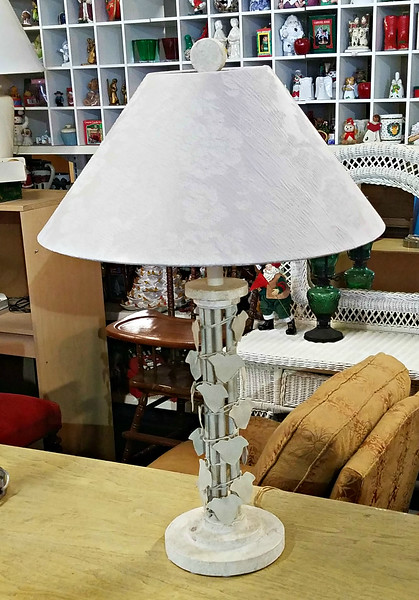 Uniquely Styled Table Lamp