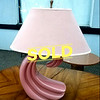 Hard-to-Find Art Deco Table Lamp in Excellent Condition.  28 x 15 x 31.  <b>$60</b>