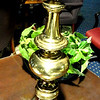 "Tall Brass Lamp.  30""  <b>$35</b>"