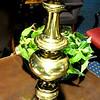 """Tall Brass Lamp.  30""""  <b>$35</b>"""