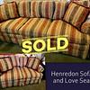 Henredon Sofa Set