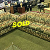 Forest Green Sofa and Love Seat Set