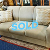 Beige Textured Living Room Sofa