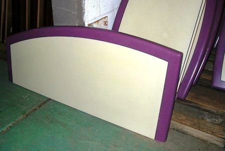 Headboards Liquidated from the Walt Disney Hotel.  Our Livernois Liquidation Warehouse is currently offering these Twin/Full Headboards liquidated from the Walt Disney Hotel. Own a piece of history and beautify your home with these colorful pieces. Your kids will LOVE them and they will look terrific in your home. The headboards mount to the wall and are in excellent condition. These units are a great deal at a great price. Get one before we sell them all. <b>$25</b>