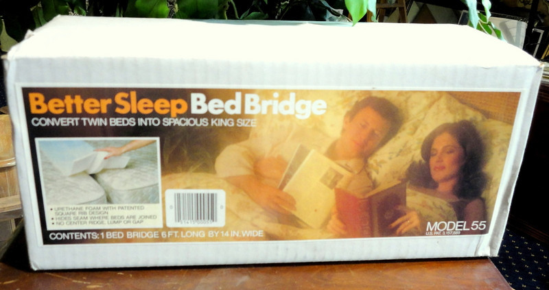 NEW!! Better Sleep Bed Bridge.  Convert Twin Beds into Spacious King Size.  72 x 14.  <b>$10</b>