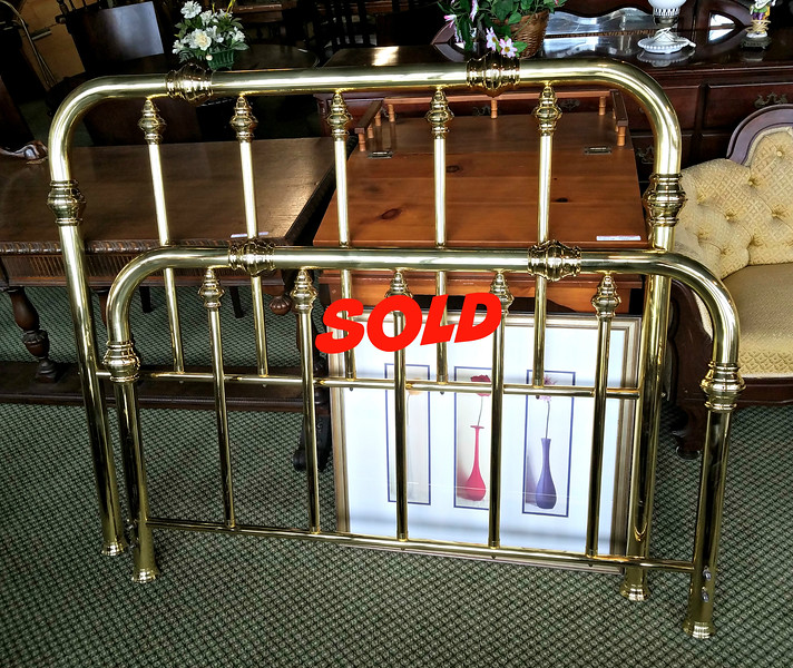 Brass Headboard / Foot Board