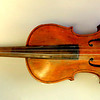NMM 4548. Violin by Jacob Stainer, Absam bei Innsbruck, CIRCA 1668. Jacob Stainer, the greatest of the German-speaking violin makers, is considered by many to be the greatest luthier of the 17th century. His instruments were still preferred over those of the Italian masters by Leopold Mozart and his contemporaries because of the beauty of their tone, well into the 18th century.     <b>$1,795</b>