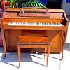Pianette Piano with Piano Bench.  Piano: 49 x 24 x 39.  <b>$250</b>