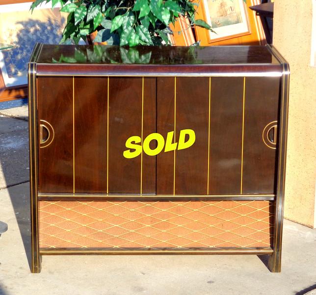 1956 Grundig Majestic Musical Instrument Model 7060 W/3D AM/FM Phonograph.   35 1/2 x 15 x 30.  <b>$175</b>