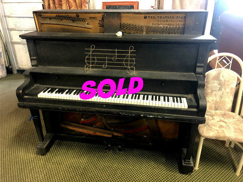 Antique Trayser Piano