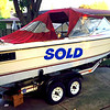 1974 Bayliner 20 ft. Fishing Boat with Trailer