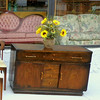 Compact Uniquely Styled Retro Server Buffet: 48 x 18 x 31 1/2.  <b>$250</b>