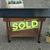 Vintage Buffet Serving Table