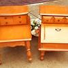 Vintage Maple End Tables
