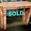 Marbleized Sofa Table