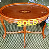 Vintage Serving Tray Coffee Table